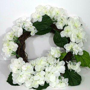 Threshold 19 inch Artificial Hydrangea Wreath